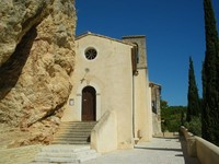 church roque alric rhone valley french walks